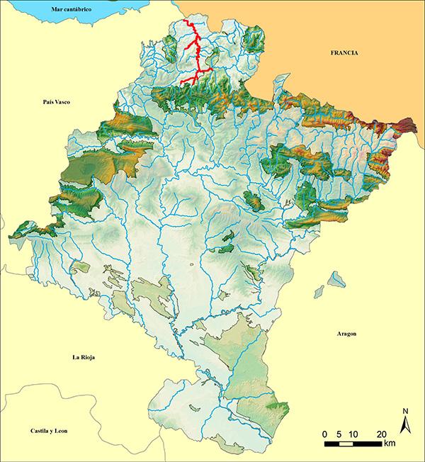 mapa bidasoa