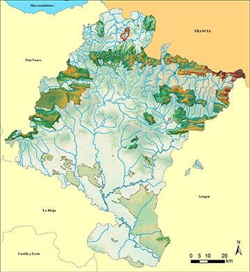 Mapa Bertiz